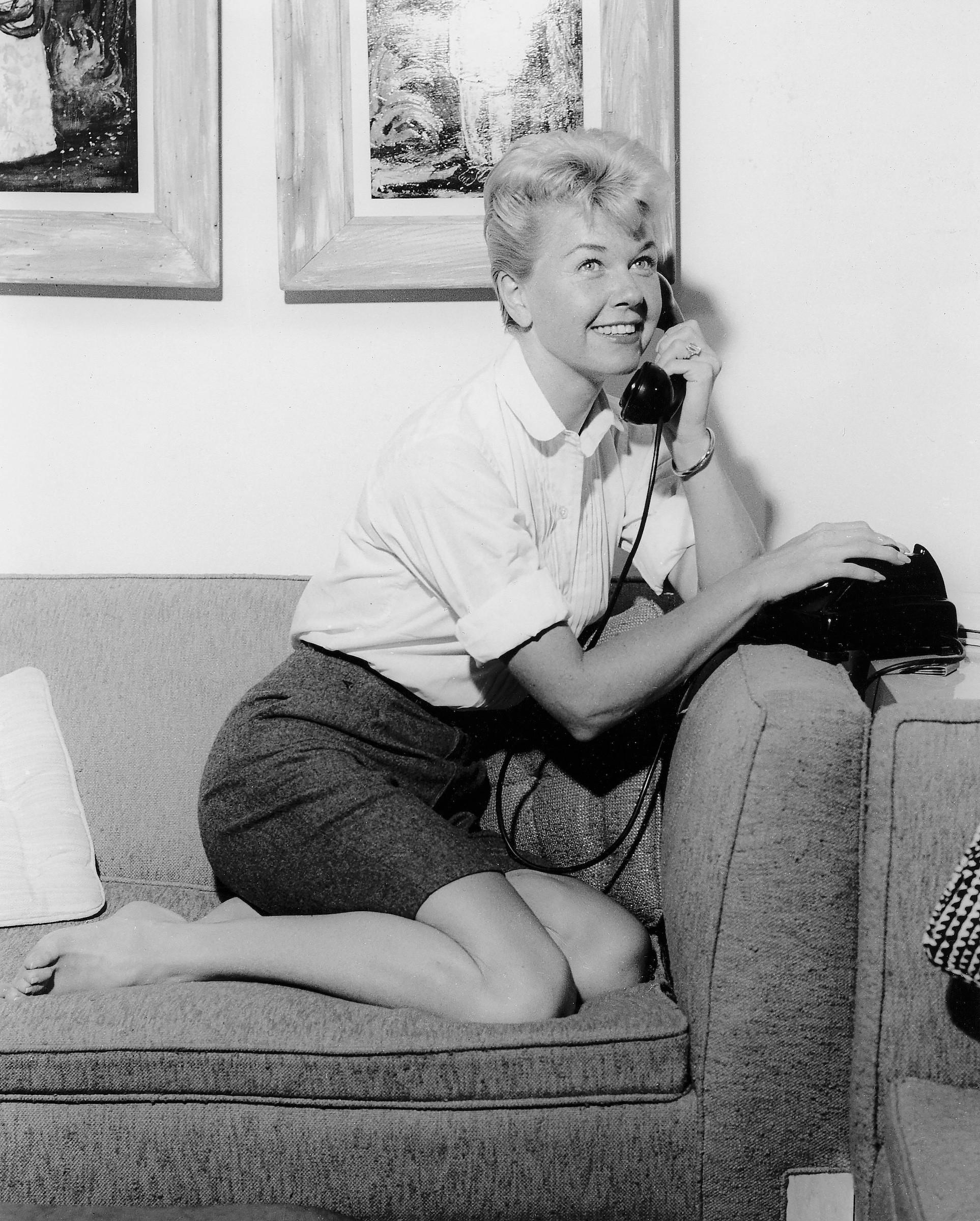 Doris Day nie żyje. Hollywoodzka gwiazda, której szczyt kariery przypadł na lata 50. i 60., zmarła w wieku 97 lat, fot. LAS VEGAS NEWS BUREAU, PAP/EPA
