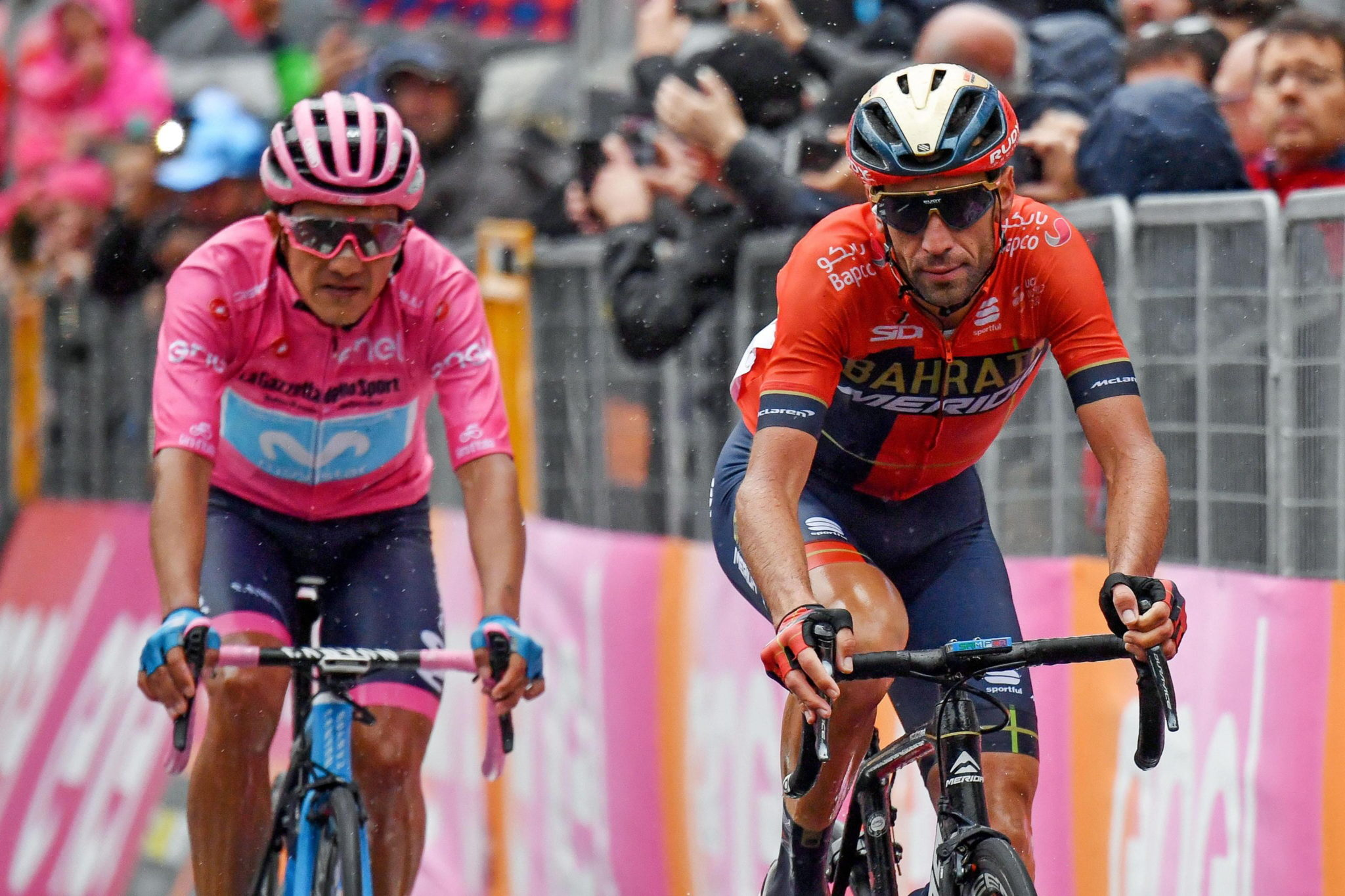 16. etap wyścigu Giro d'Italia, fot. ALESSANDRO DI MEO, PAP/EPA.