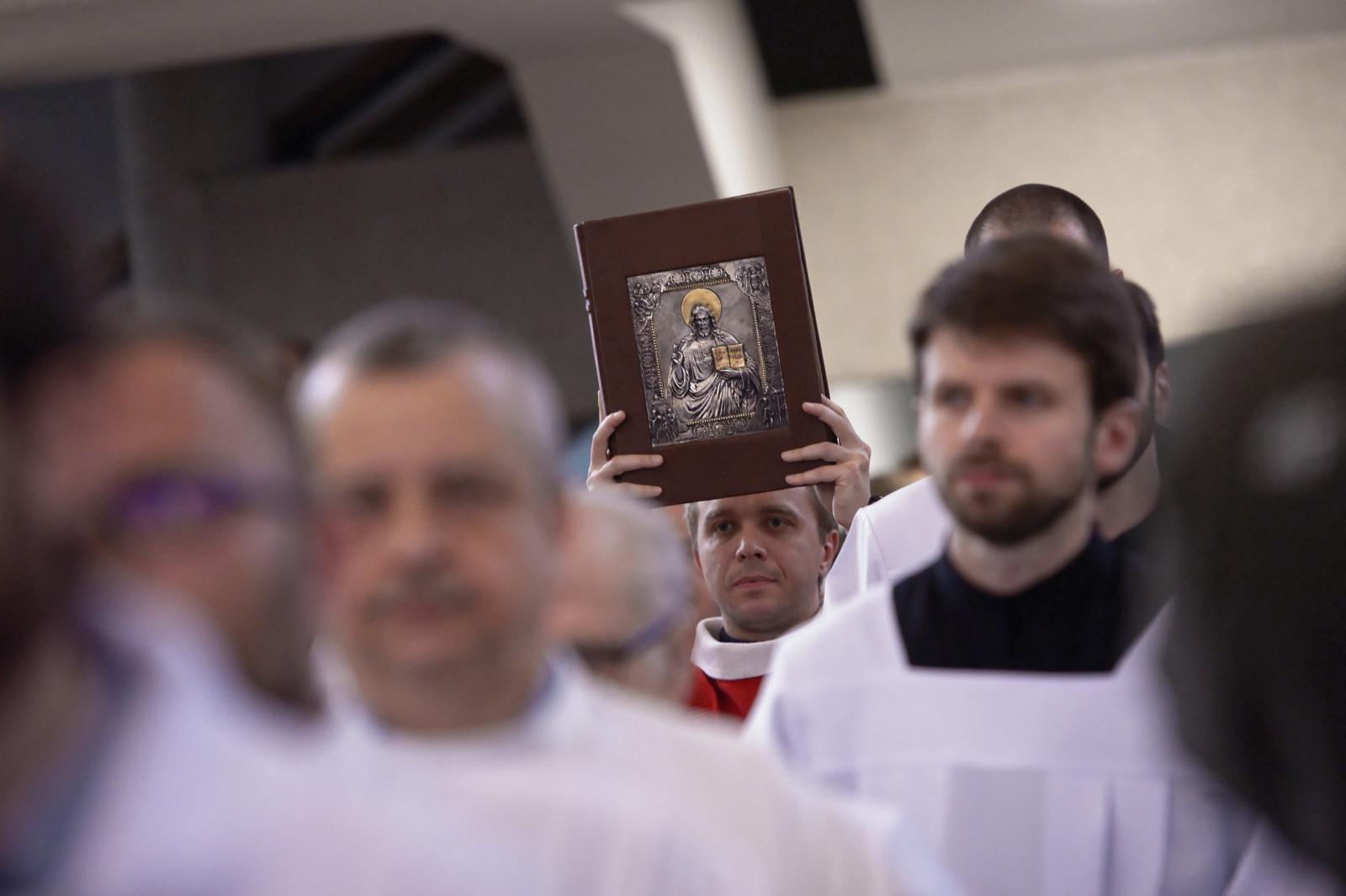 Uroczystości ku czci św. Andrzeja Boboli PAP/Marcin Obara