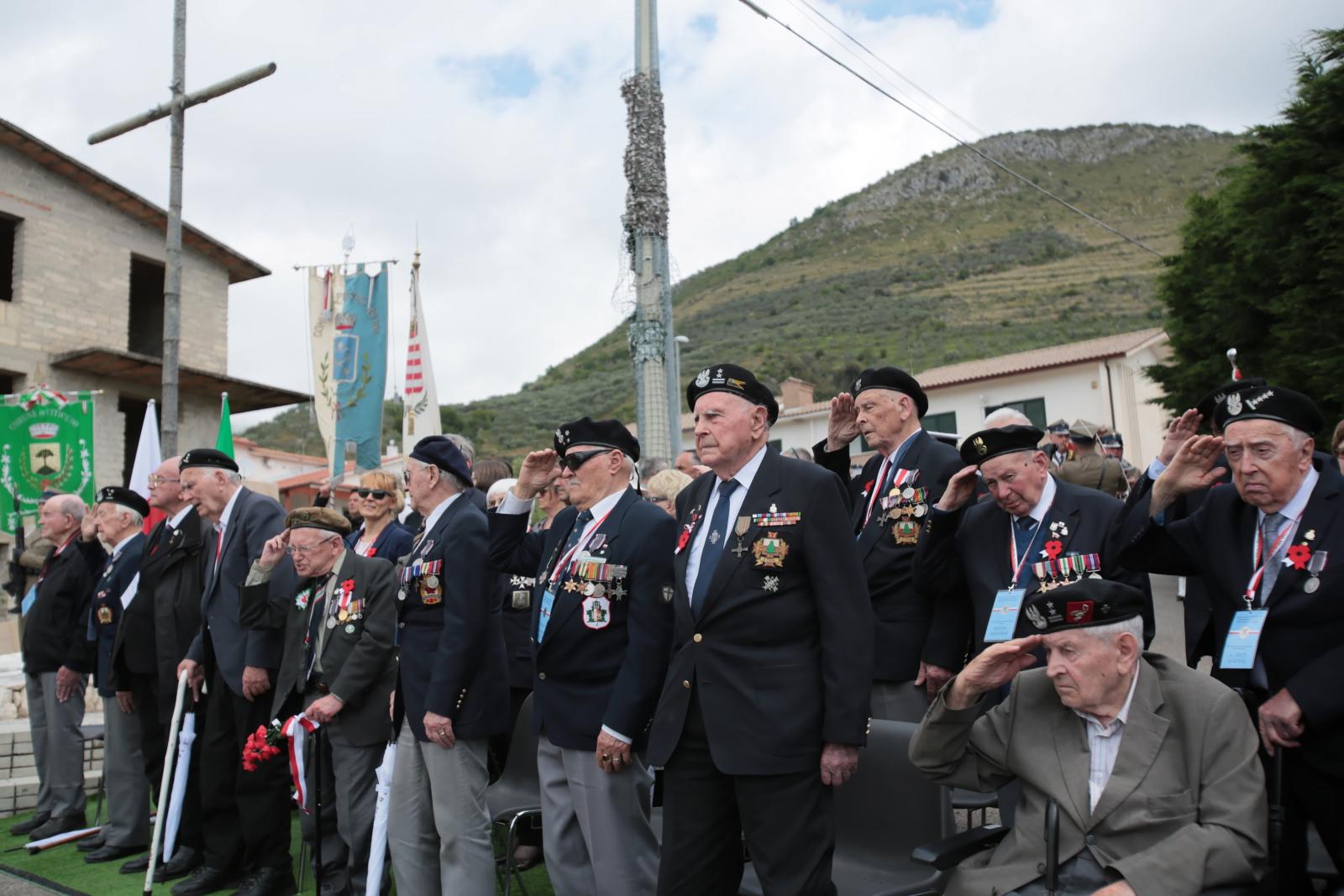 75 rocznica zakończenia bitwy o Monte Cassino. Fot. PAP/Leszek Szymański