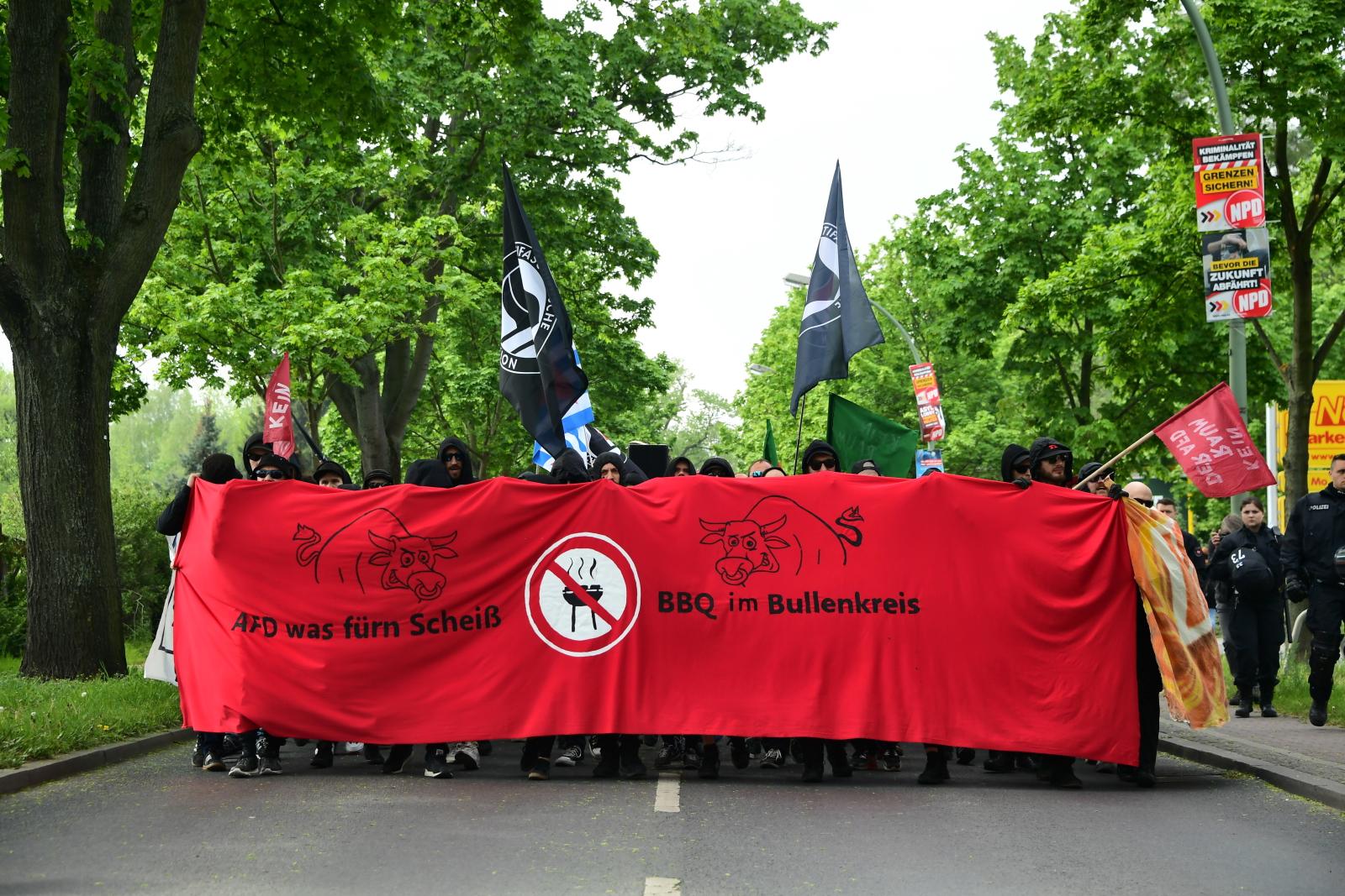 Święto Pracy w Niemczech EPA/CLEMENS BILAN