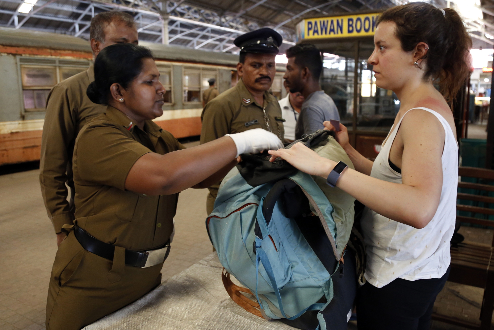 Święto Pracy na Sri Lance  EPA/M.A.PUSHPA KUMARA