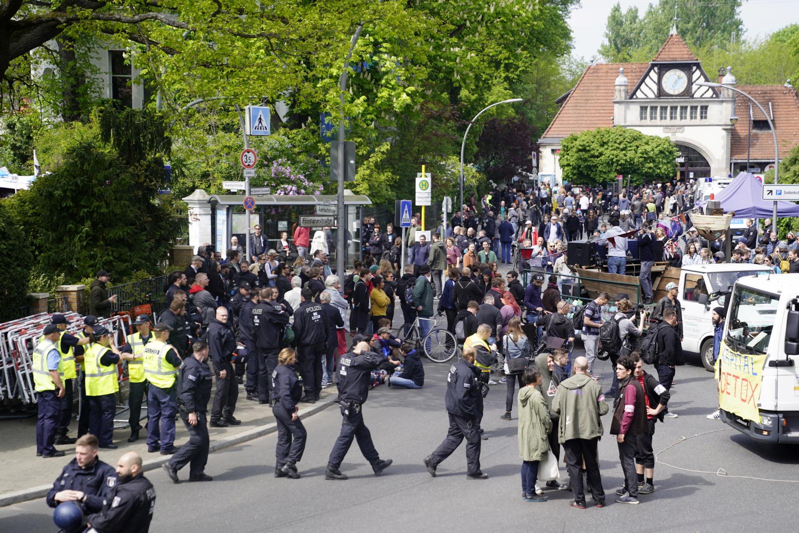 Święto Pracy w Niemczech EPA/ALEXANDER BECHER