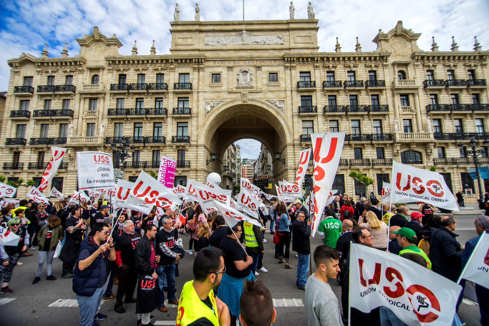 Święto Pracy w Hiszpanii EPA/Roman G. Aguilera