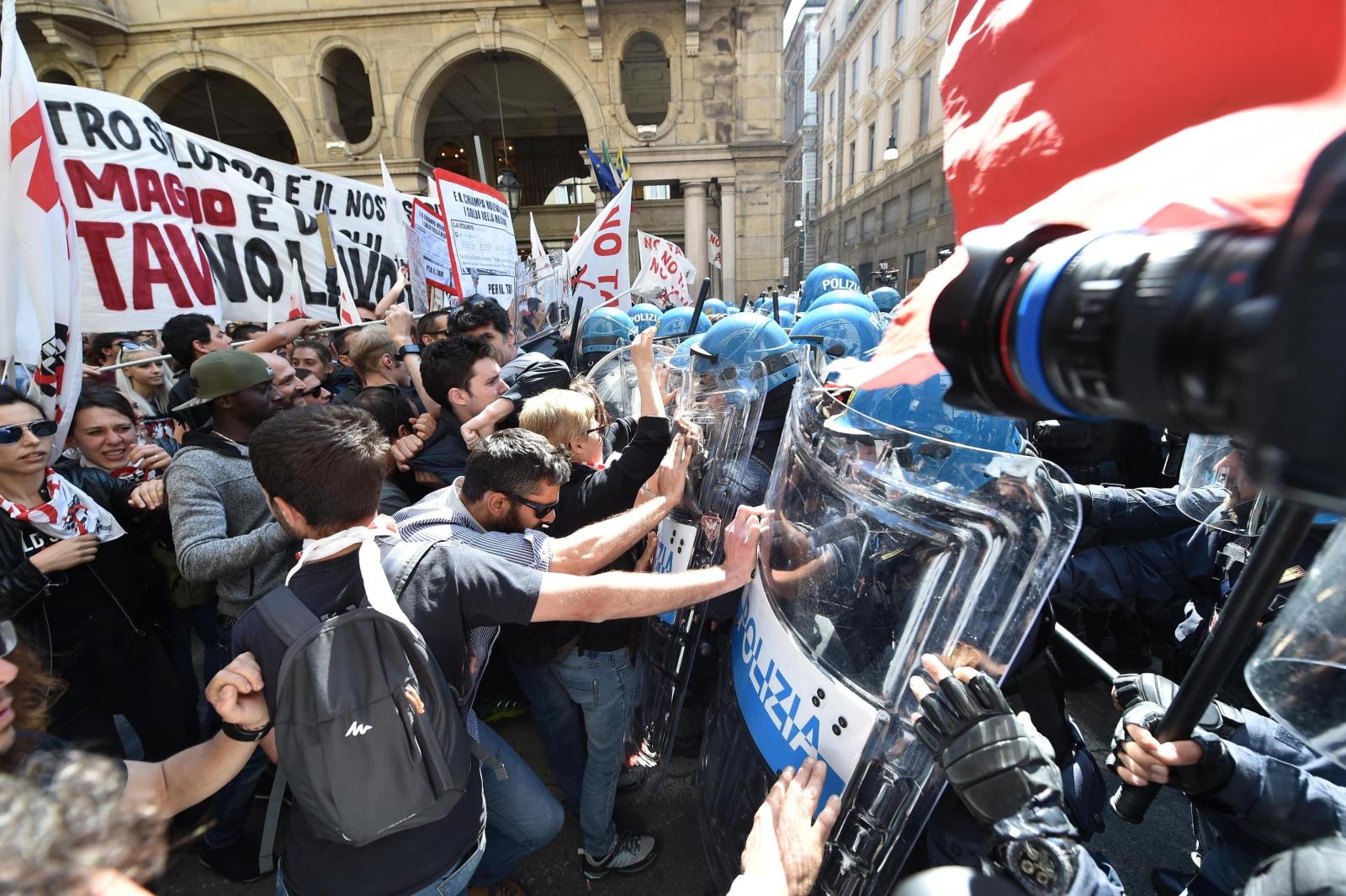 Święto Pracy we Włoszech  EPA/DI MARCO