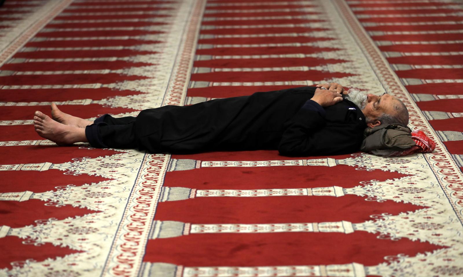 Ramadan w Palestynie EPA/ALAA BADARNEH