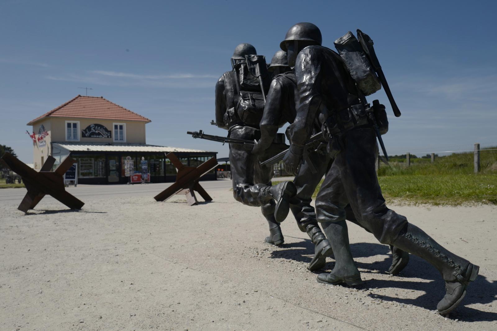 Francja: Rocznica D-Day EPA/THIBAULT VANDERMERSCH