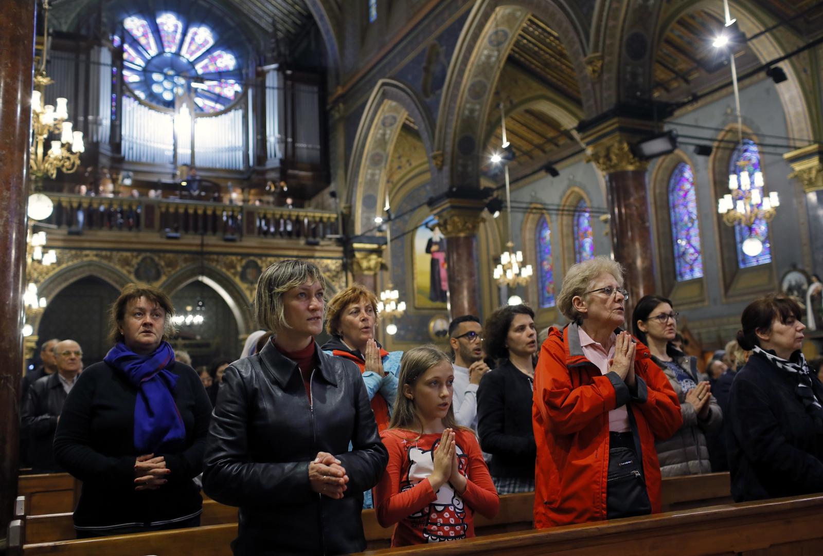 Rumunia przygotowuje się do wizyty papieża Franciszka EPA/ROBERT GHEMENT