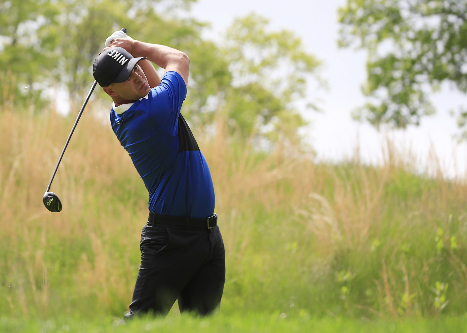 Mecz golfowy w USA. Fot. PAP/EPA/TANNEN MAURY