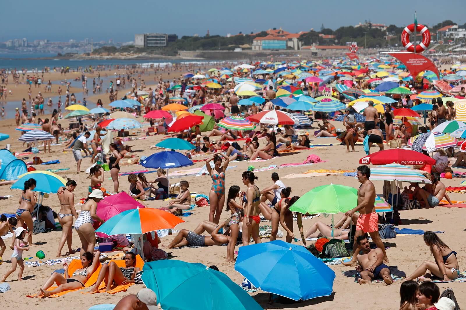 Pogoda w Portugalii fot. EPA/ANTONIO PEDRO