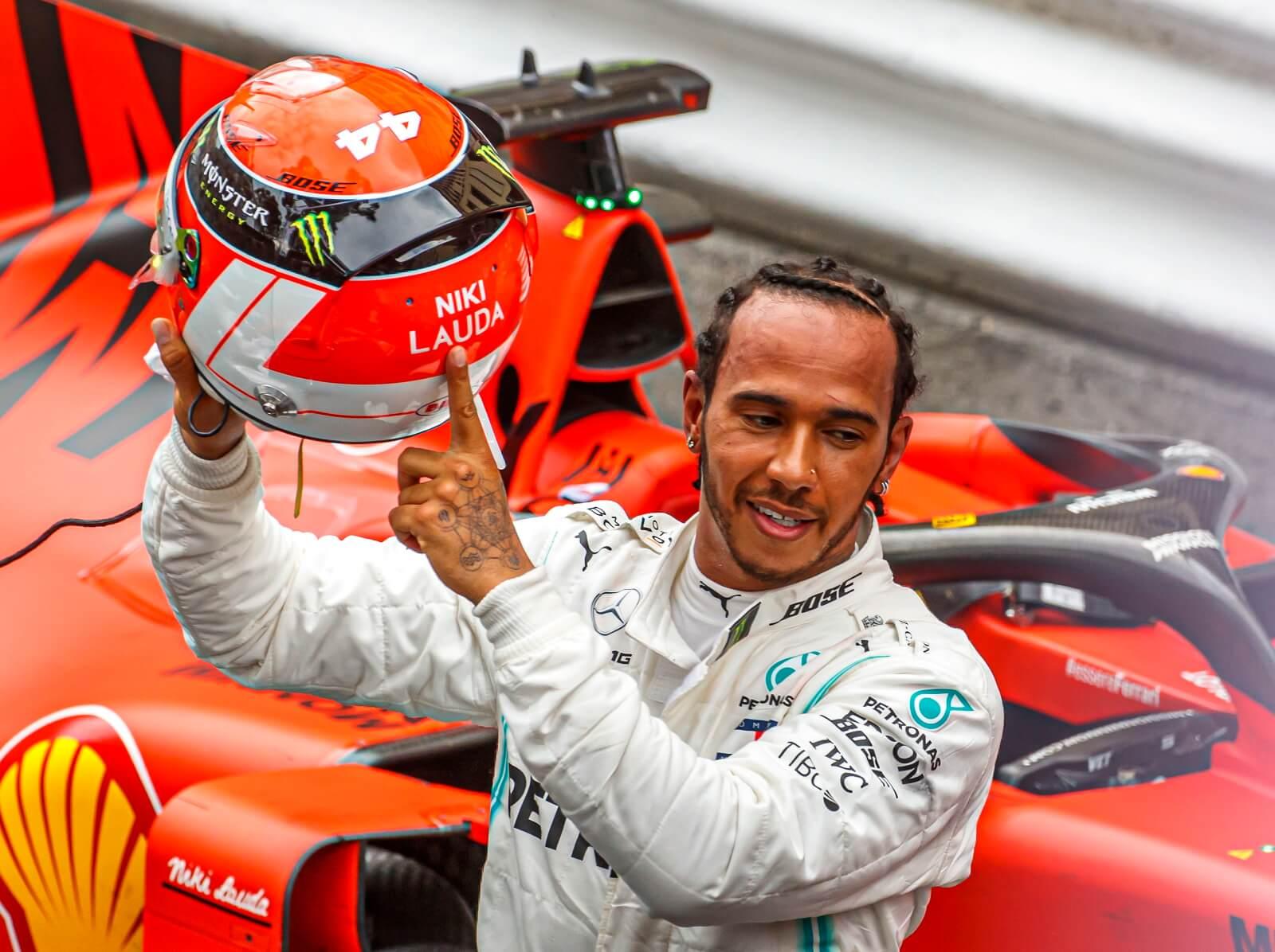 Lewis Hamilton po GP Monako fot. EPA/SRDJAN SUKI