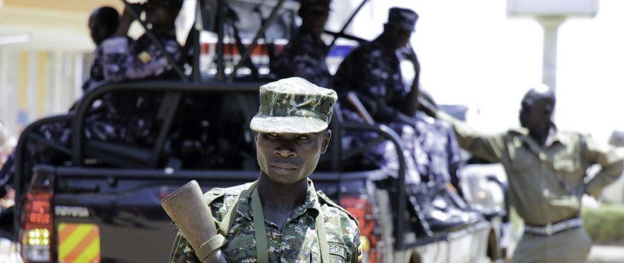 afryka żołnierz