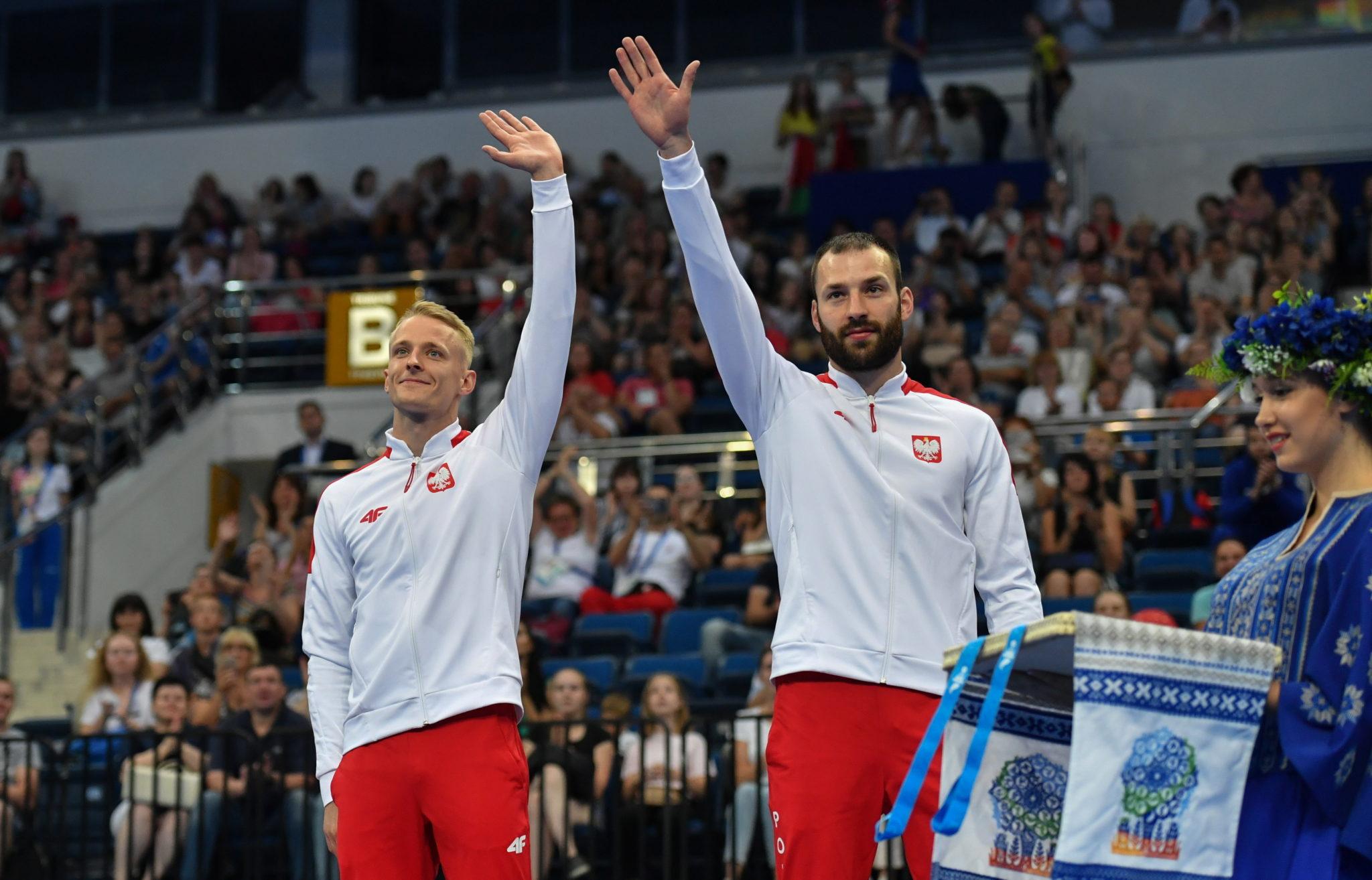 Polacy Łukasz Jaworski i Artur Zakrzewski, fot. Piotr Nowak, PAP