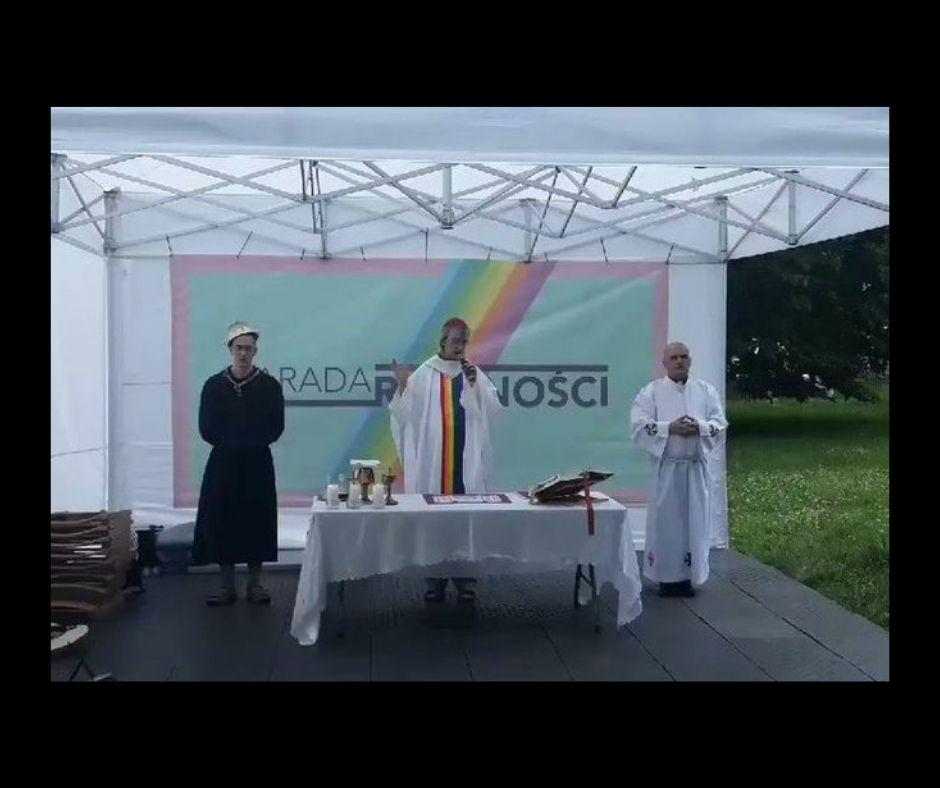 Parafa równości profanacja msza