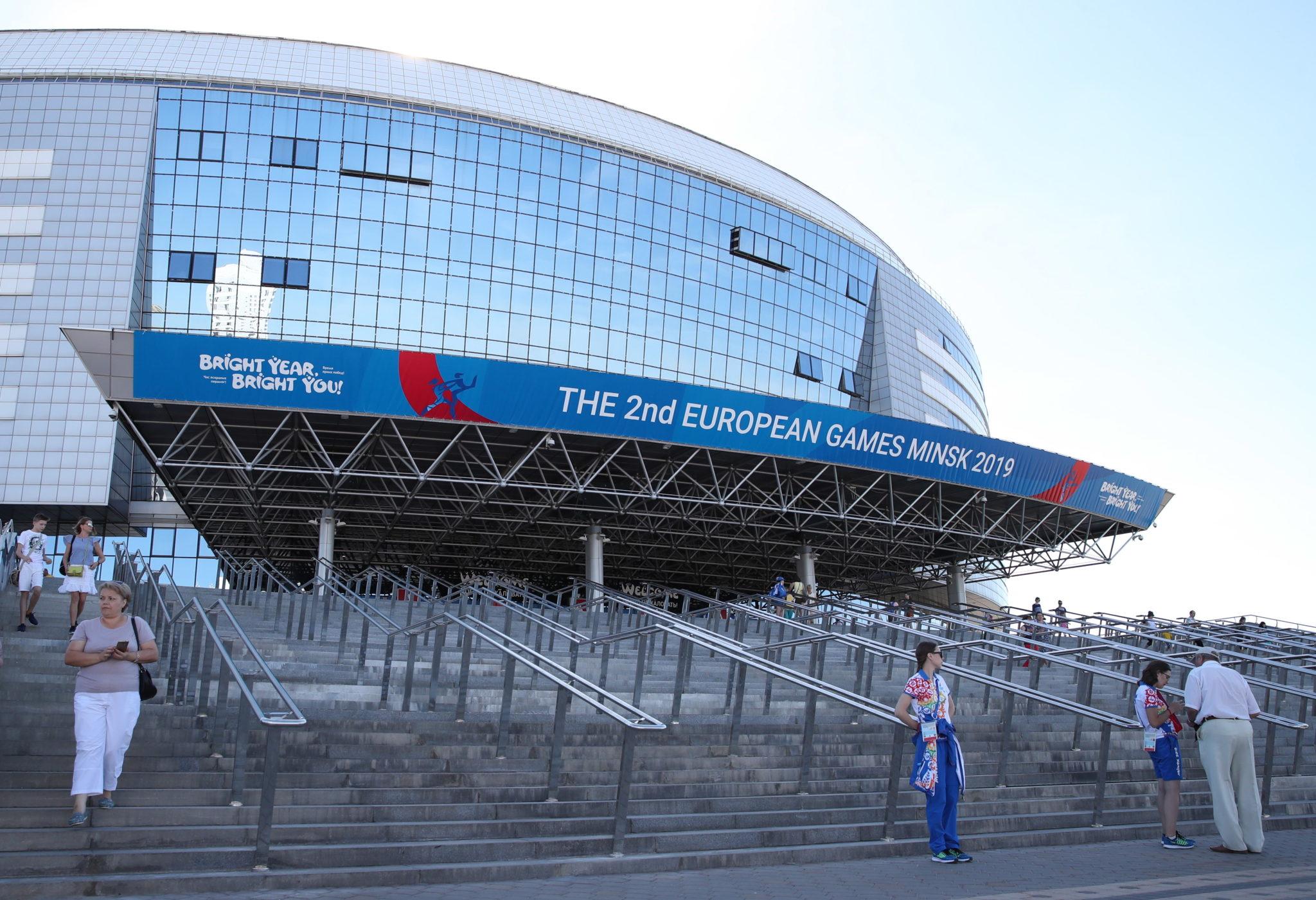 Podczas II Igrzysk Europejskich w Arenie Palowa w Mińsku w