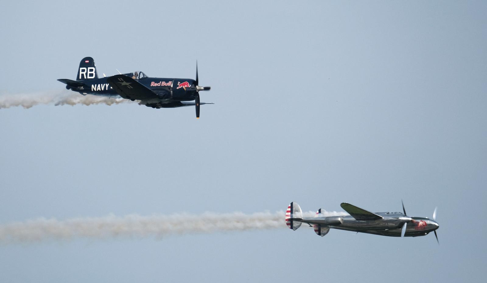 Air Show w Katowicach. Fot. PAP/Andrzej Grygiel