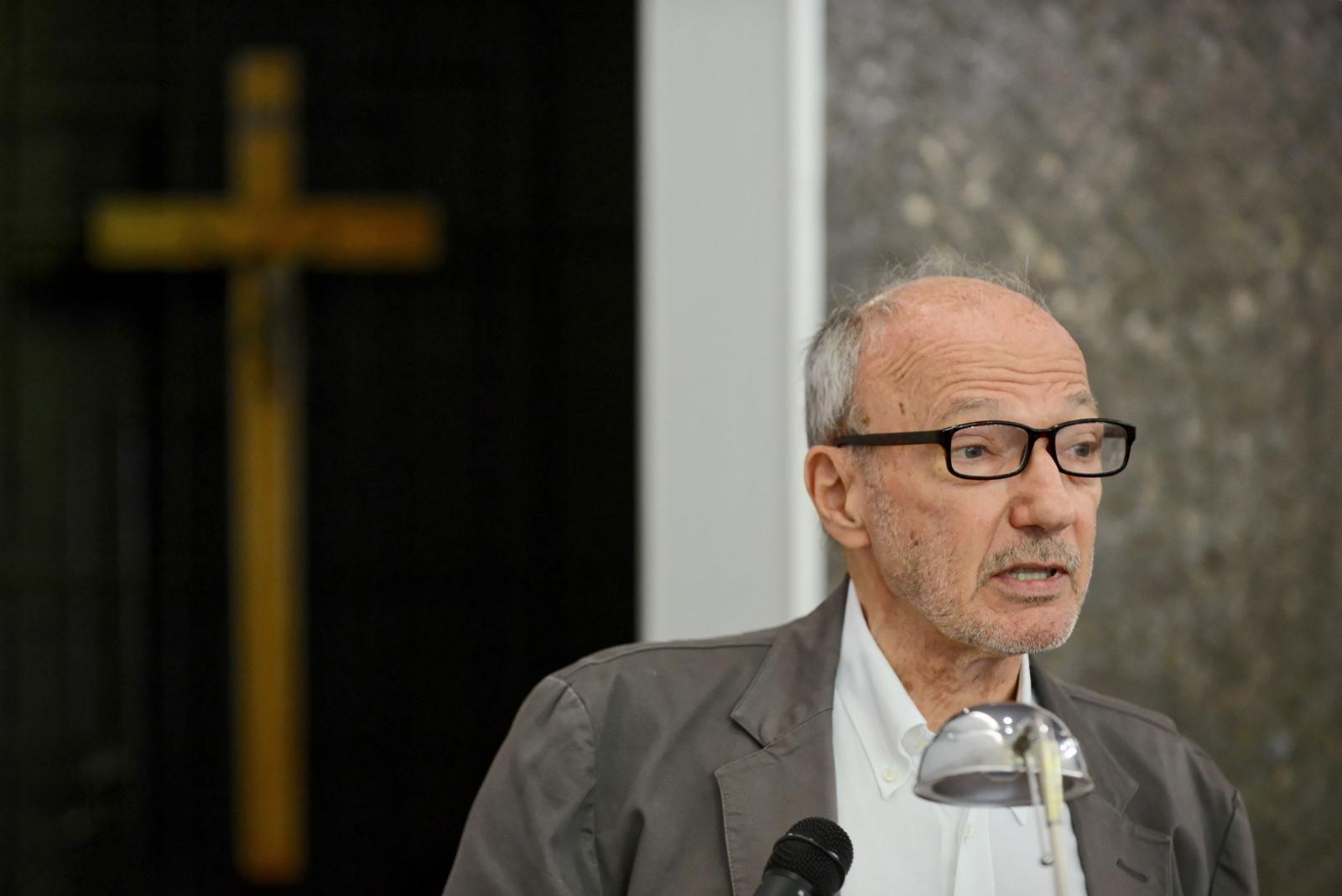 Pogrzeb reżysera, Ryszarda Bugajewskiego, Warszawa. Fot. PAP/Jakub Kamiński