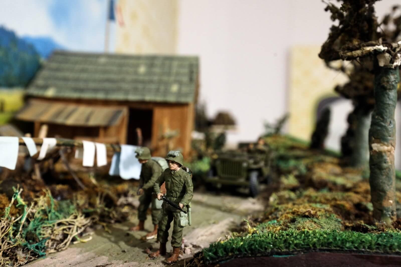 Wystawa zabawek militarnych w Białymstoku fot. PAP