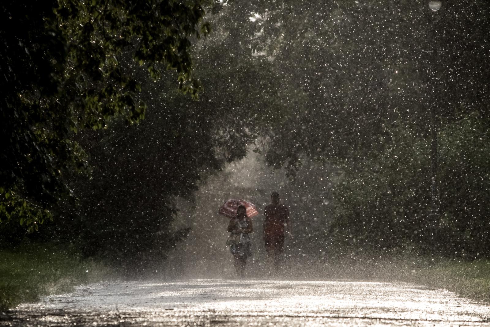 Aktualna pogoda w Czechach. Fot. EPA/MARTIN DIVISEK