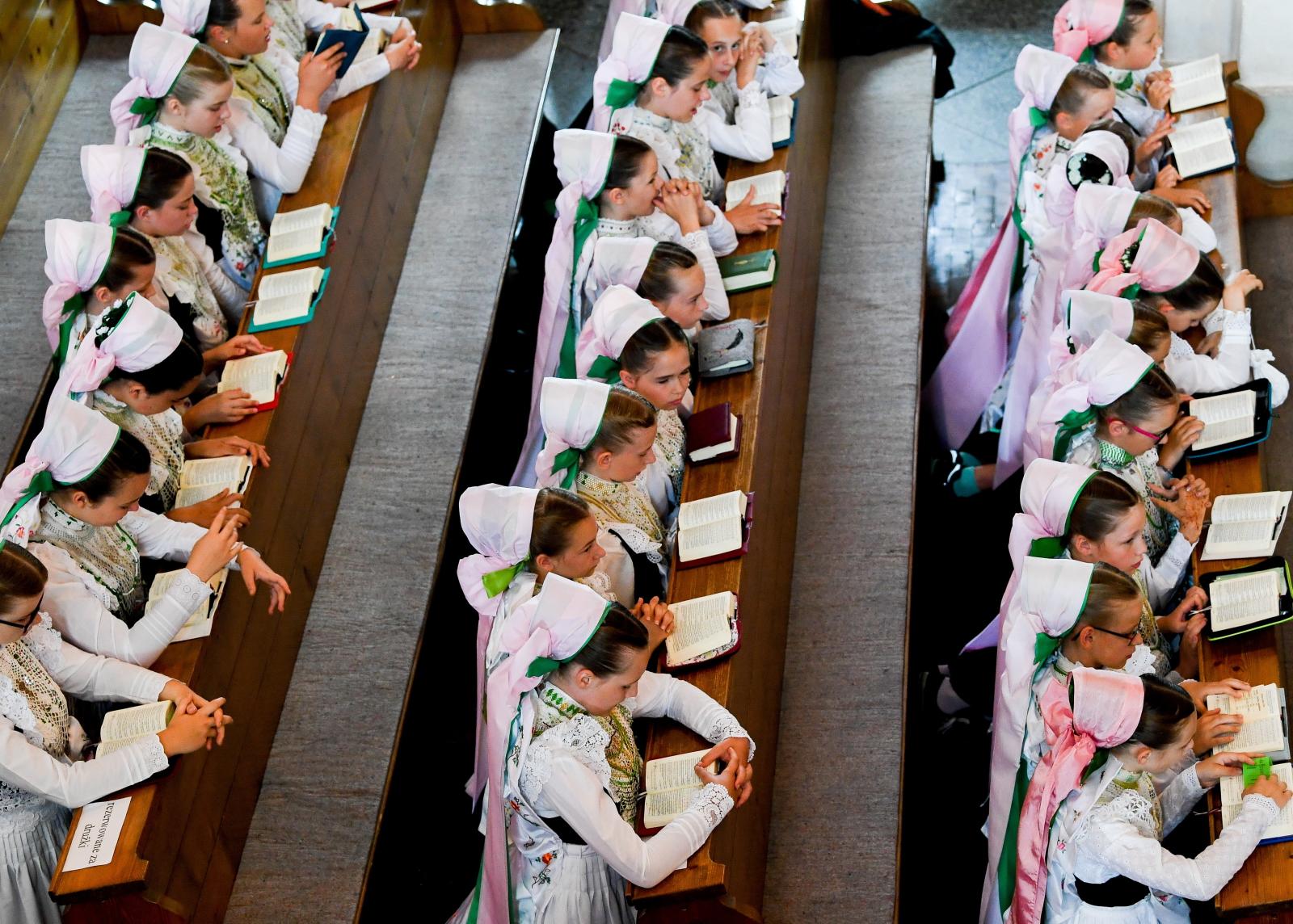 Boże Ciało w Niemczech EPA/FILIP SINGER