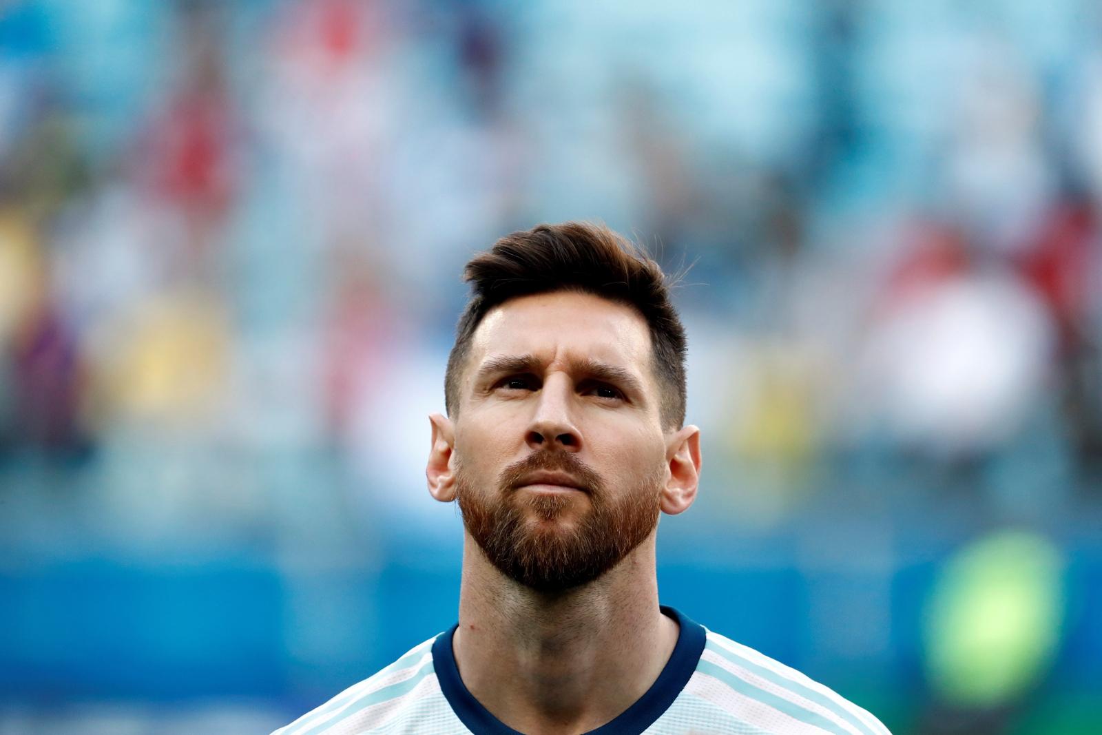 Lionel Messi podczas Copa America. Fot. PAP/EPA/Sebastiao Moreira