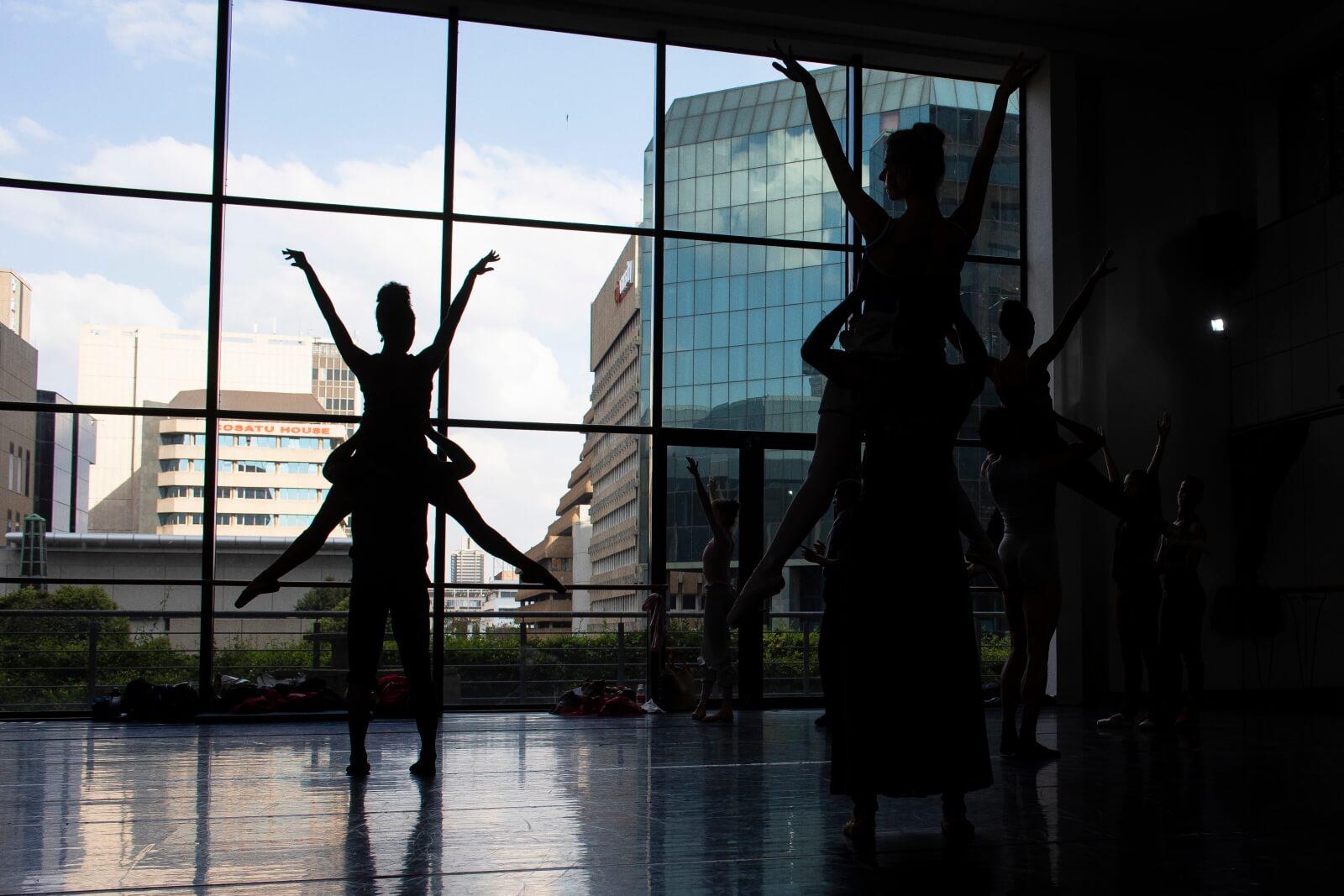 Balet w RPA fot. EPA/KIM LUDBROOK
