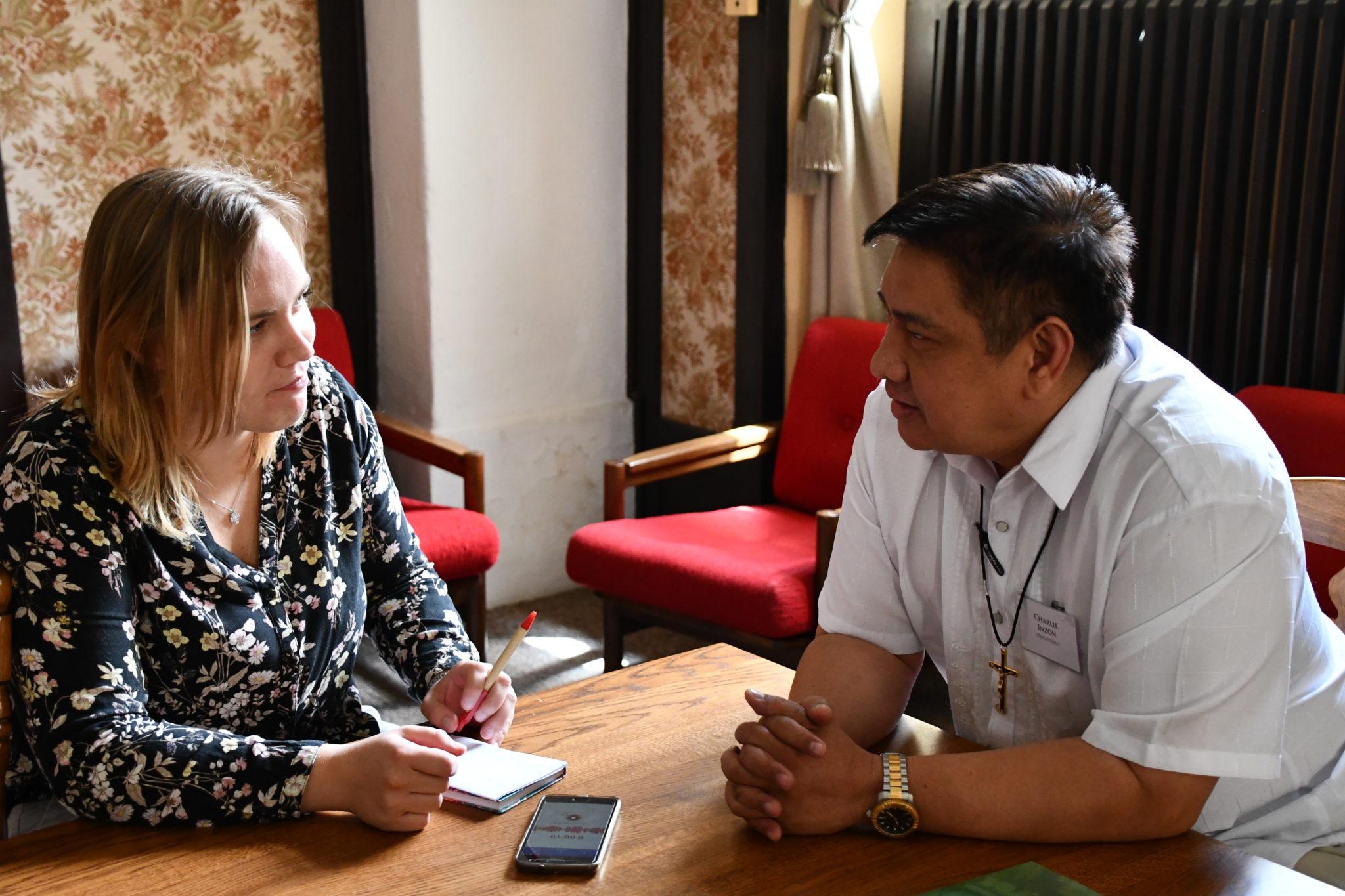 Charlie Inzon OMI Filipiny prowincjał
