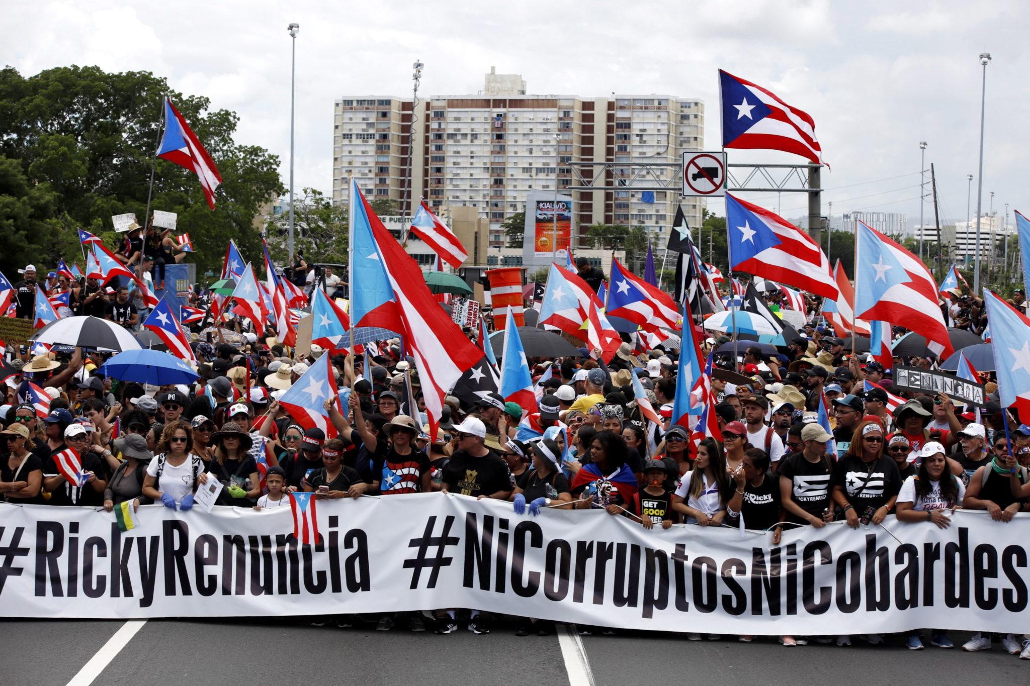 W krótkim materiale filmowym, jaki opublikował na Facebooku, Rossello zapowiedział, że stawi czoła wszelkim próbom zainicjowania wobec niego procedury impeachmentu. 40-letni Ricardo
