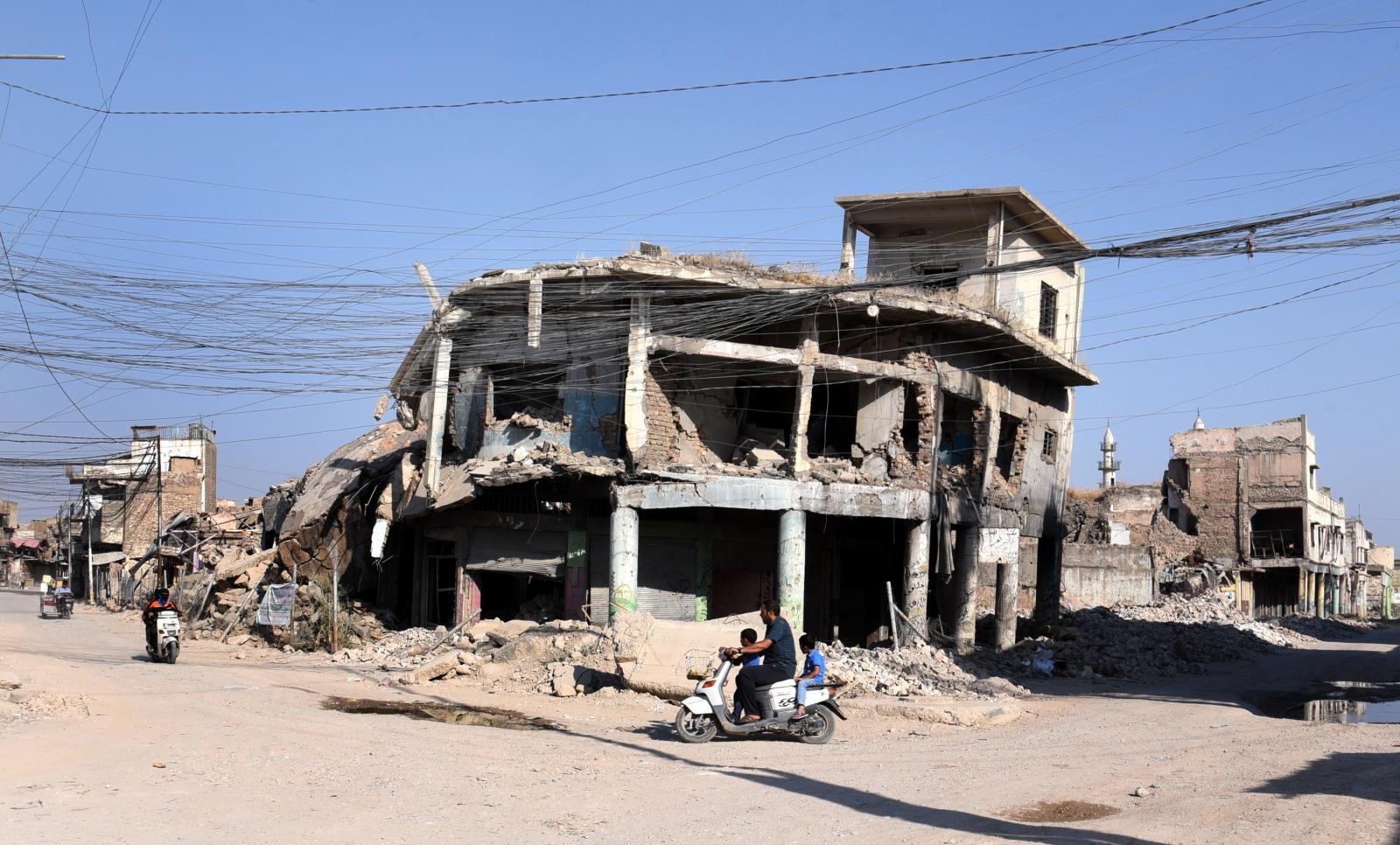 Druga rocznica wyzwolenia Mosulu Fot. EPA/AMMAR SALIH
