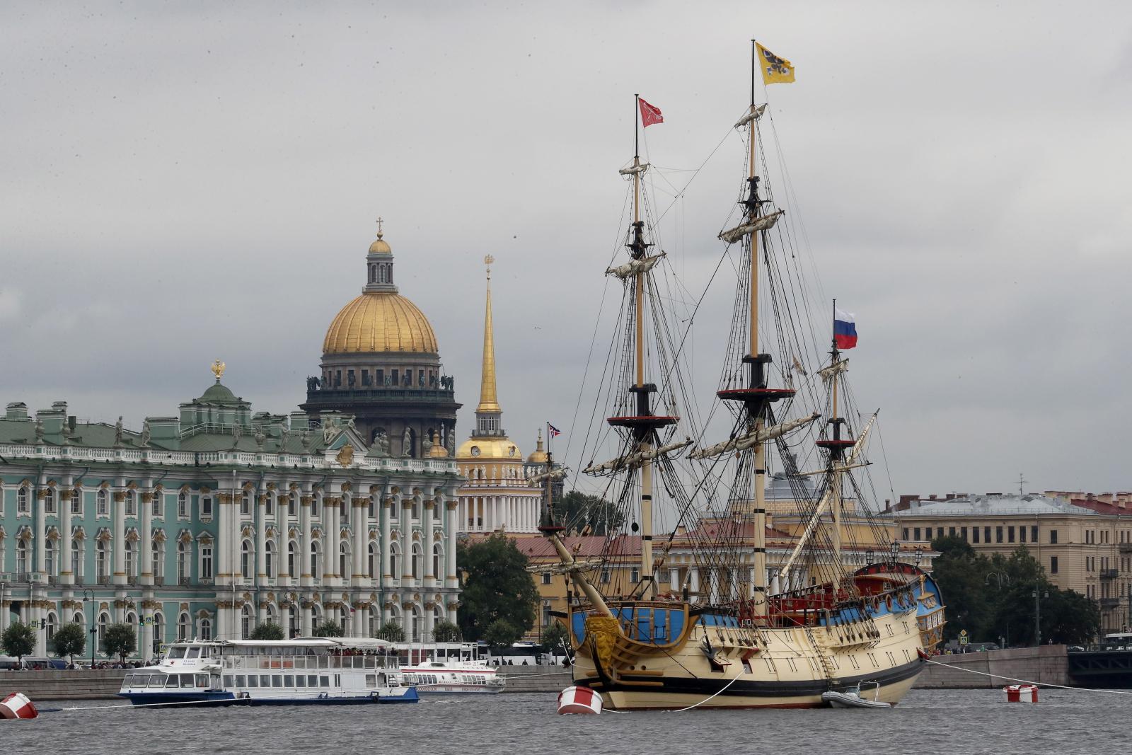 Statek Poltava w Rosji Fot. EPA/ANATOLY MALTSEV