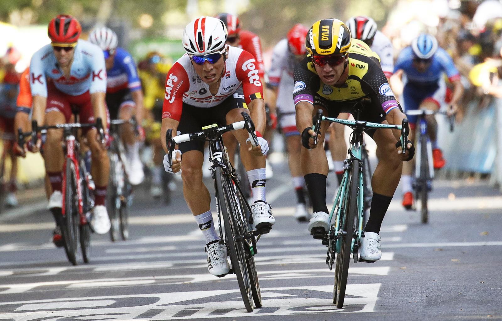 Tour de France Fot. EPA/YOAN VALA