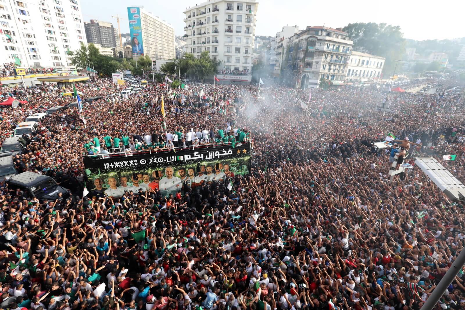 Africa Cup w Algierii fot. EPA/MOHAMED