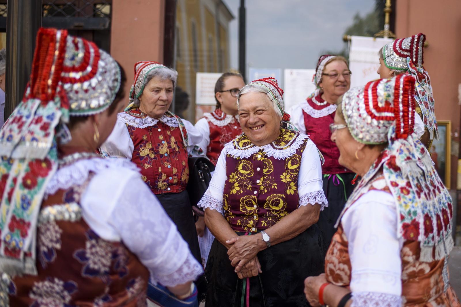 Procesja ku czci św. Anny na Węgrzech. Fot. PAP/EPA/Peter Komka
