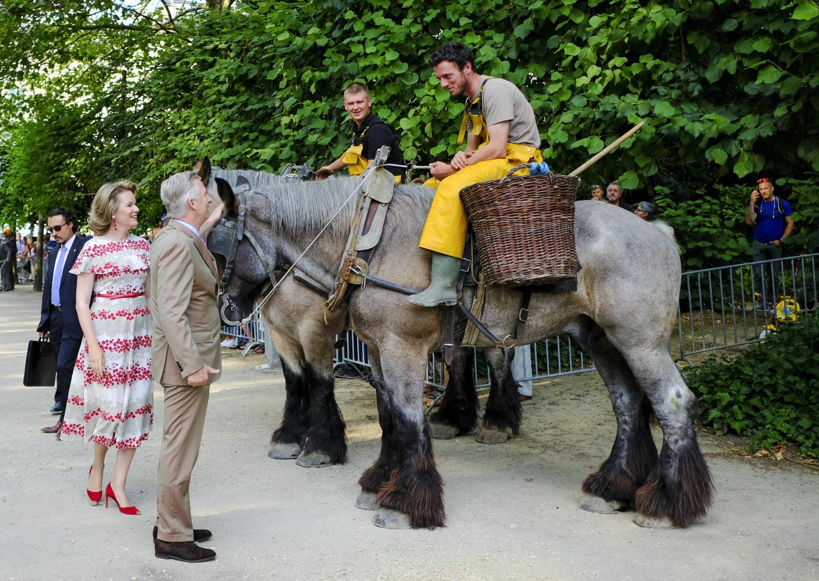 Święto Narodowe w Belgii. Fot. PAP/EPA/JULIEN WARNAND