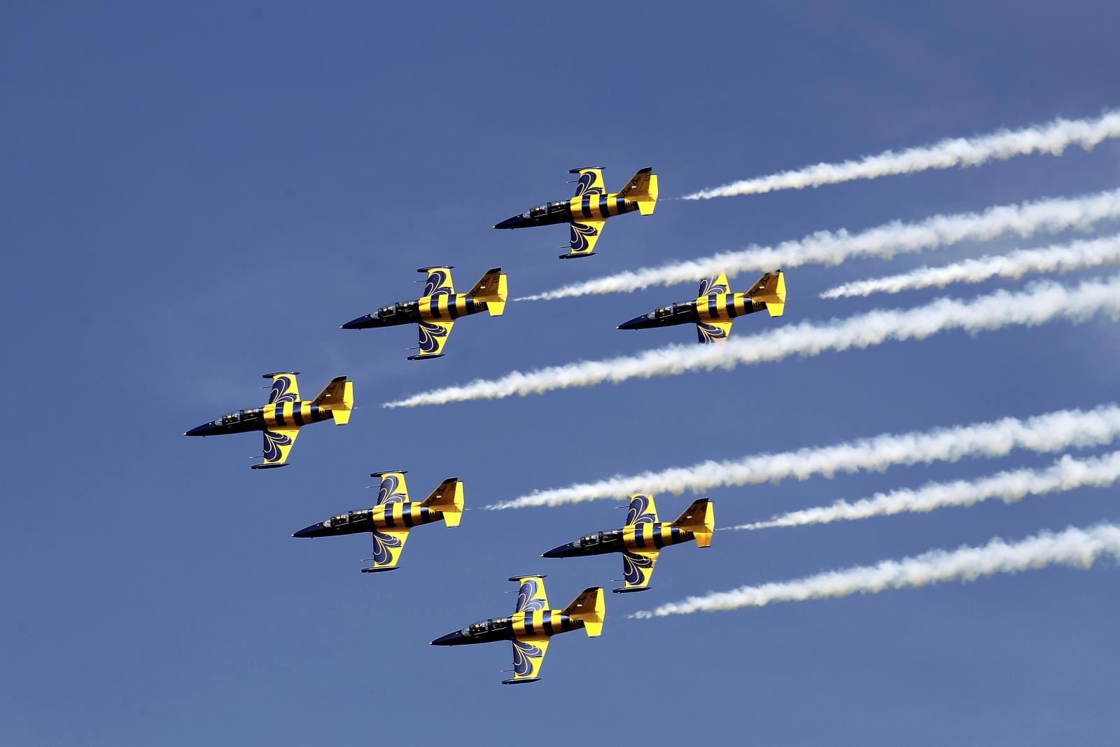 Baltics Airshow w Tukums, Łotwa. Fot. PAP/EPA/Toms Kalnins