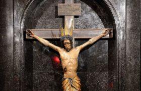 krycyfiks z kaplicy Baryczków