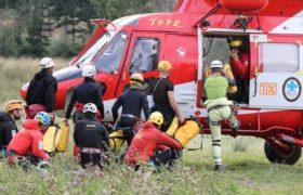 Akcja ratunkowe w Jaskini Wielkiej Śnieżnej ciągle trwa fot. PAP/Grzegorz Momot