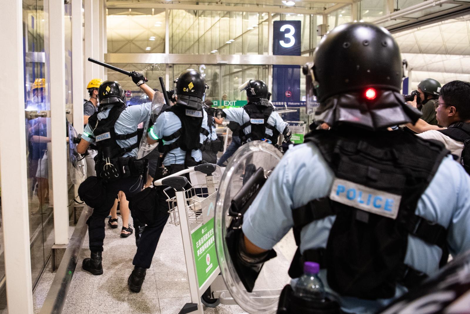 Antyrządowe protesty w Hongkongu