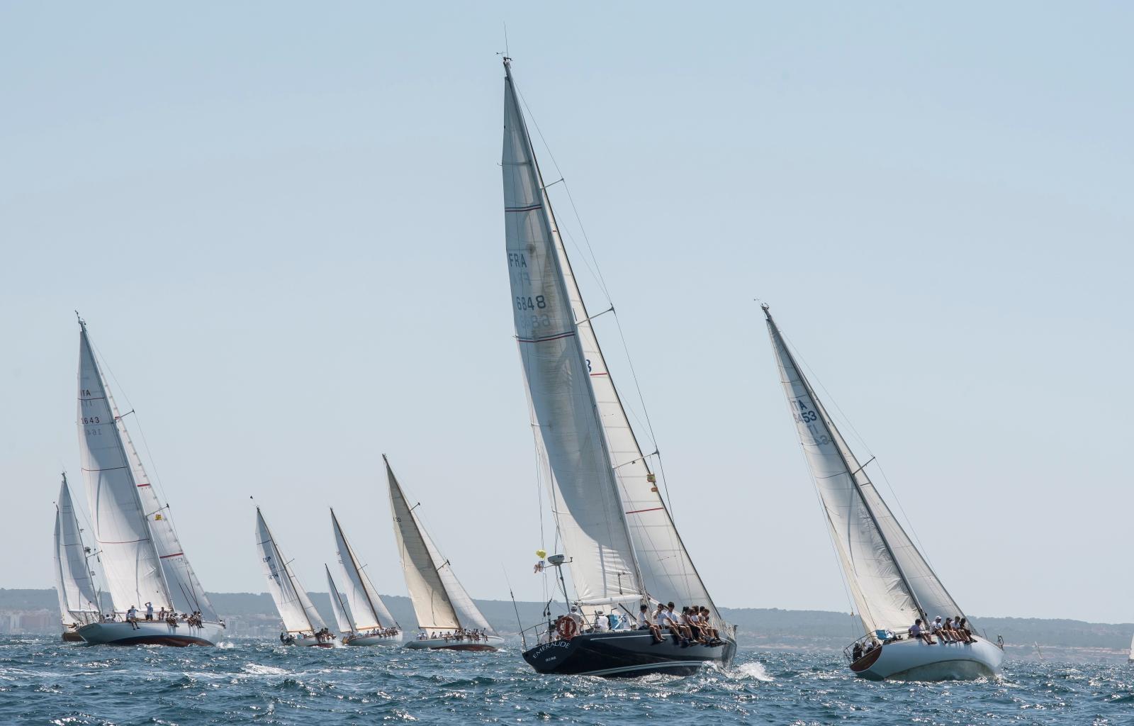Regaty żeglarskie w Hiszpanii Fot. PAP/EPA/ATIENZA