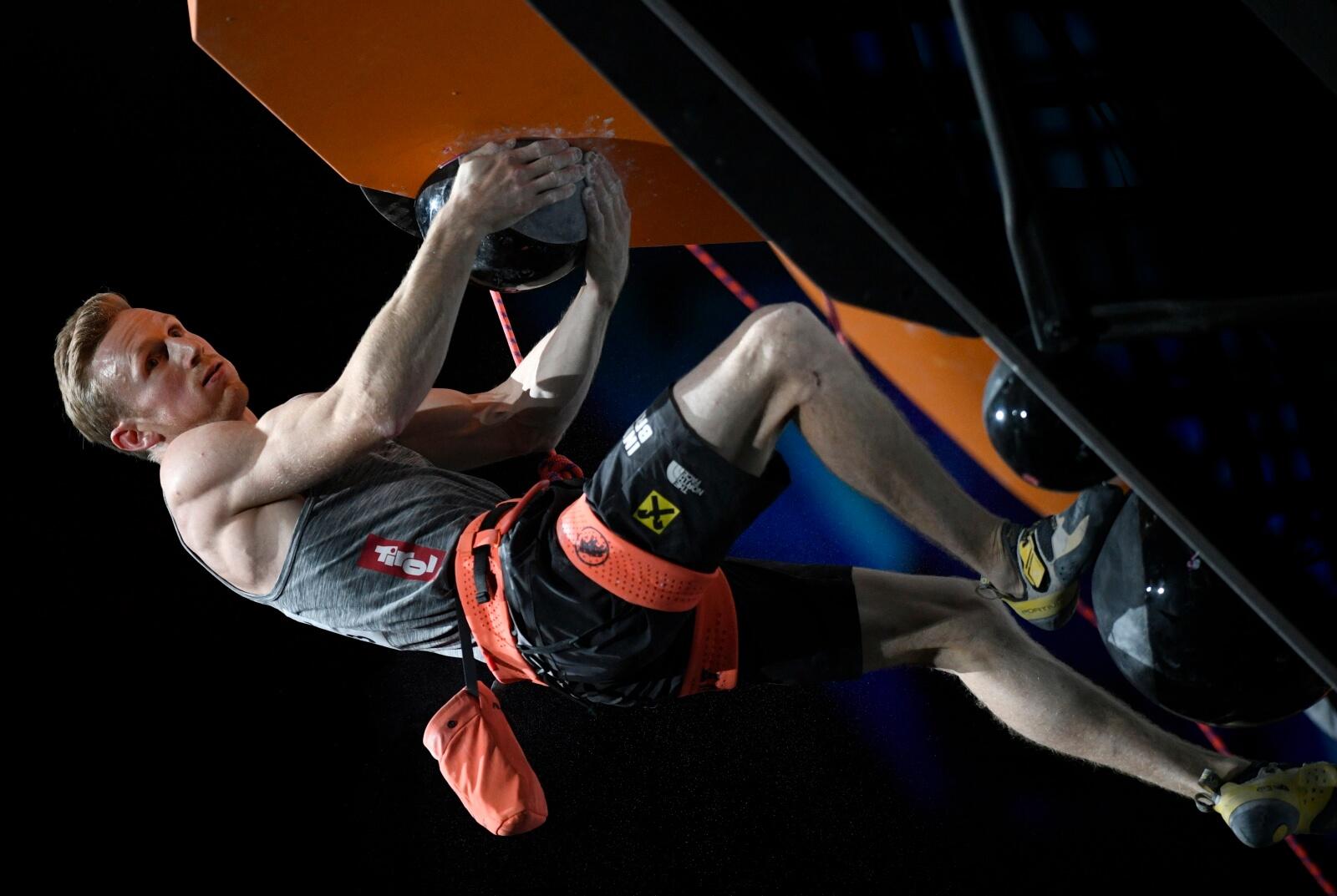 Mistrzostwa świata we wspinaczce fot. EPA/FRANCK ROBICHON