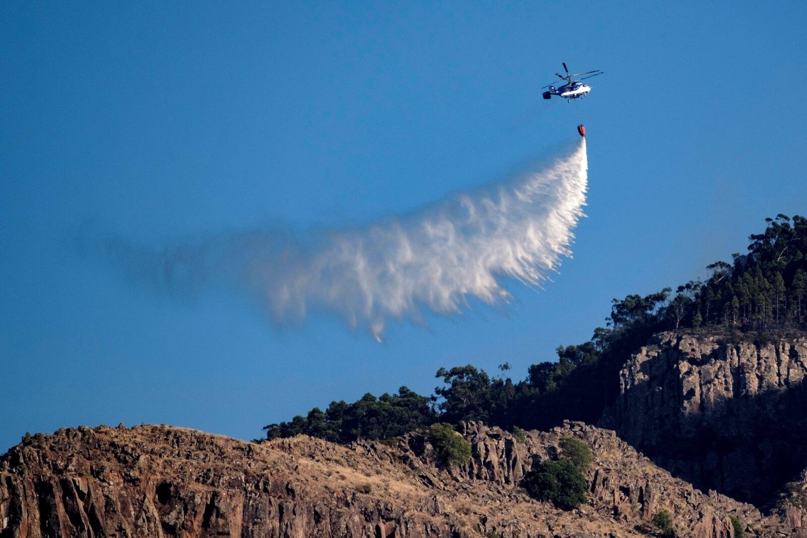 Pożary w Hiszpanii pustoszą lasy fot. EPA/Angel Medina G.