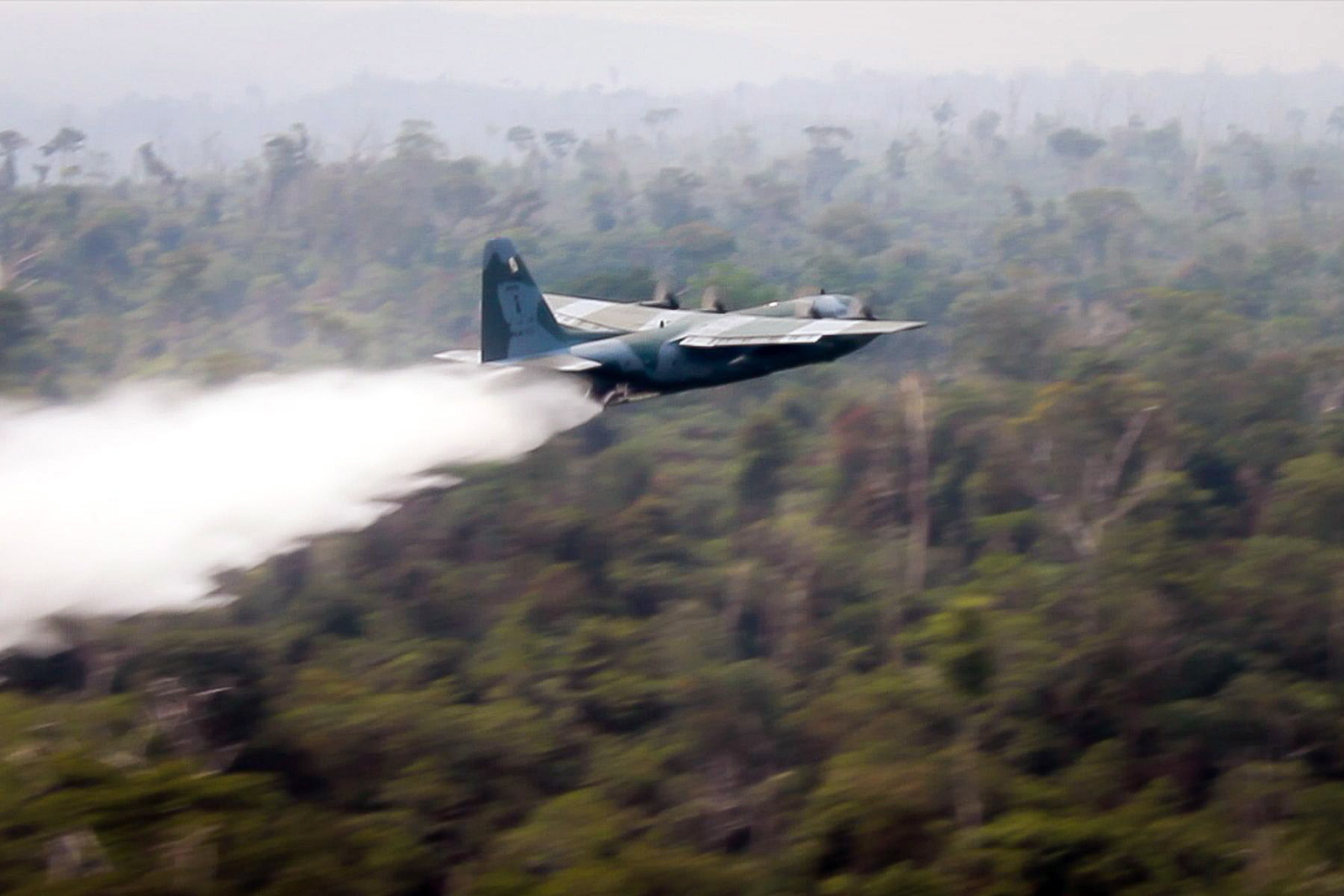 EPA/BRAZIL AIR FORCE