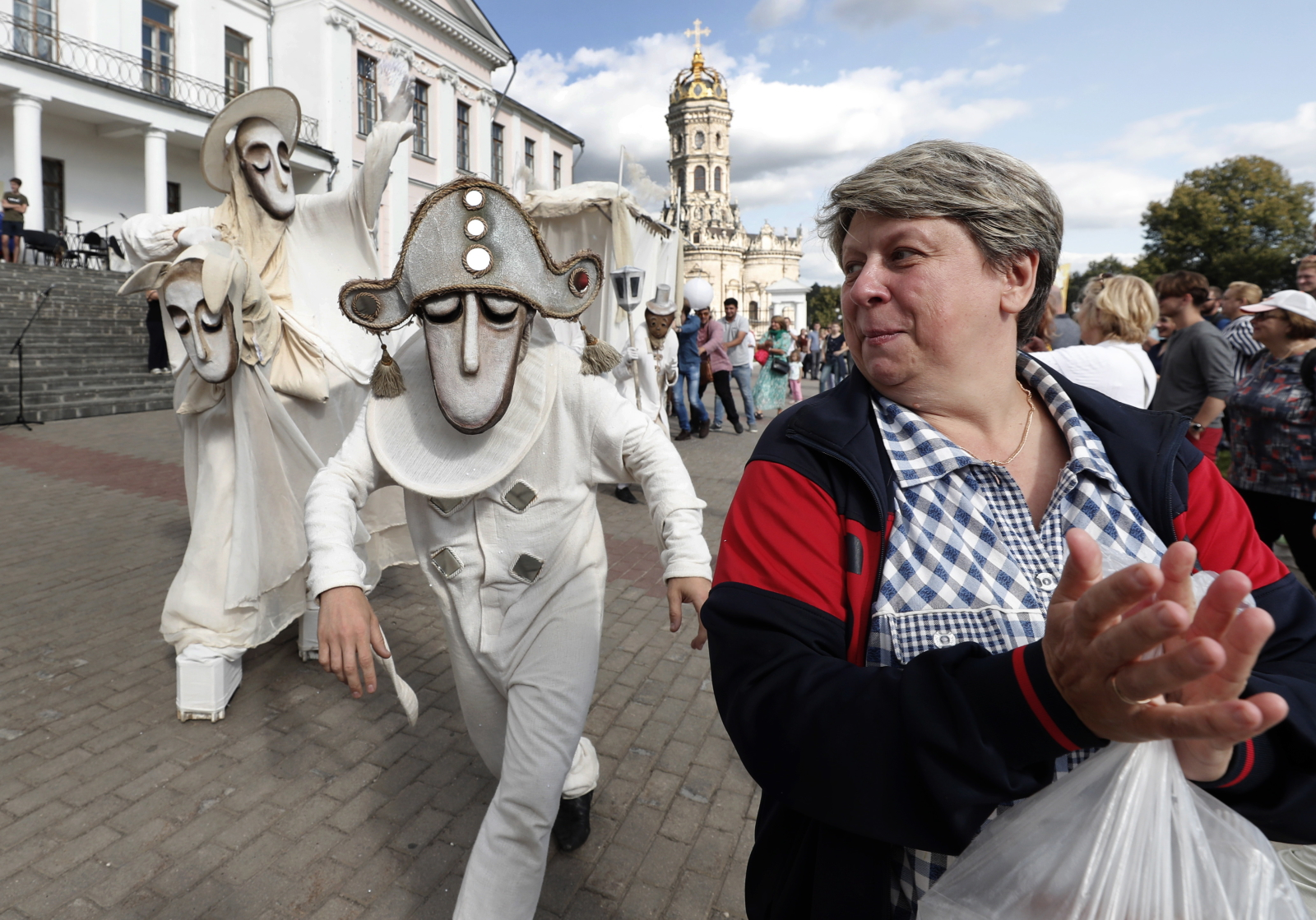 Festiwal Teatrów w Rosji  EPA/MAXIM SHIPENKOV