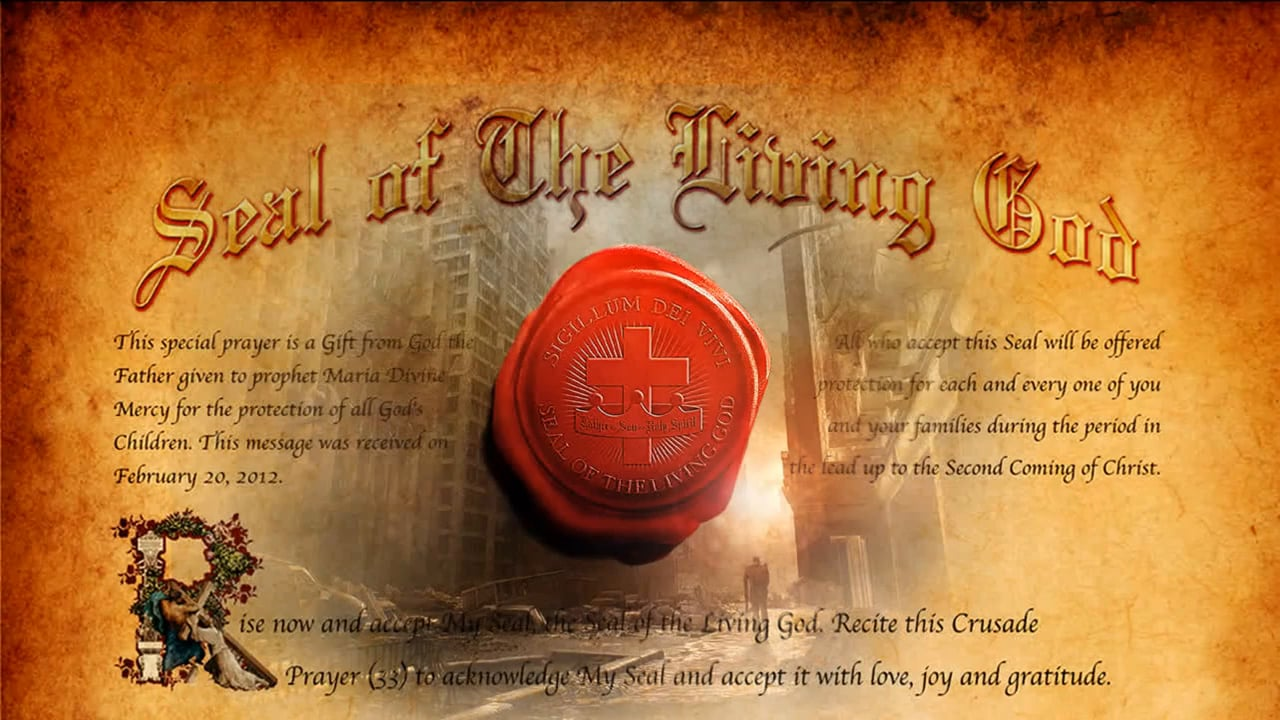pieczęć Boga żywego