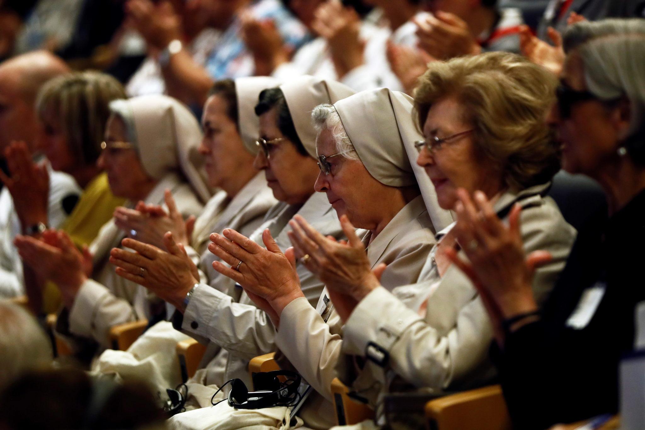 Konferencja o dialogu międzyreligijnym w Hiszpanii zgromadziła wiele duchownych i  osób konsekrowanych. fot. EPA/MARISCAL