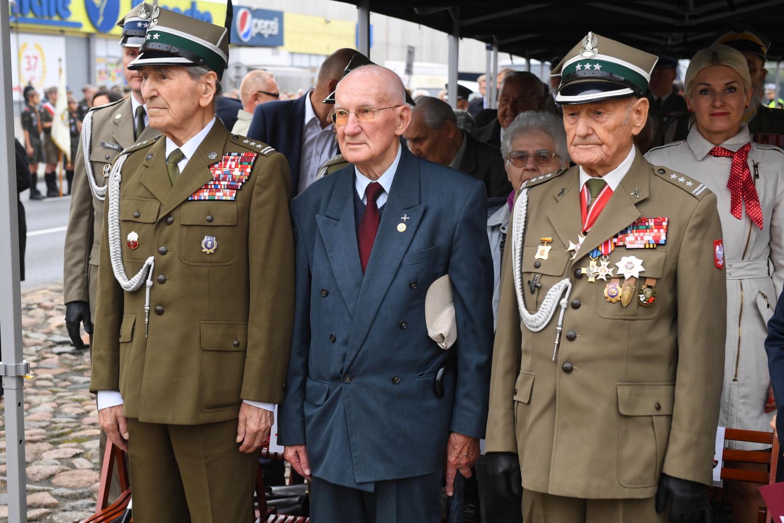 80 rocznica bitwy w obronie Warszawy fot. PAP/Radek Pietruszka