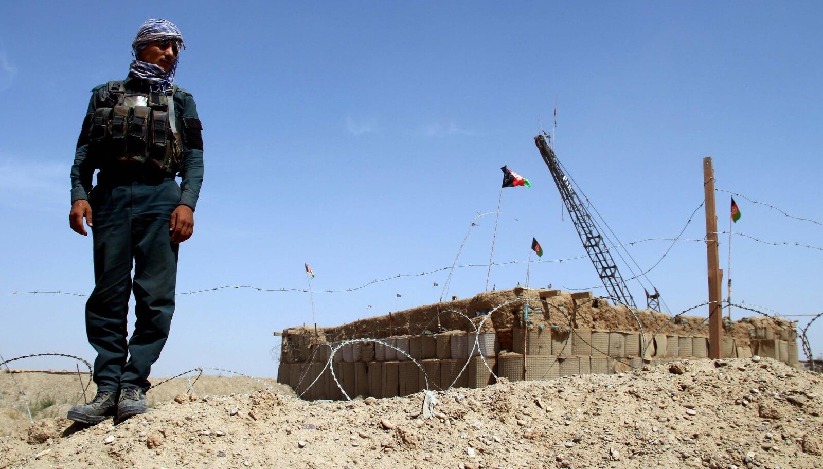 Afganistan fot.  EPA/WATAN YAR