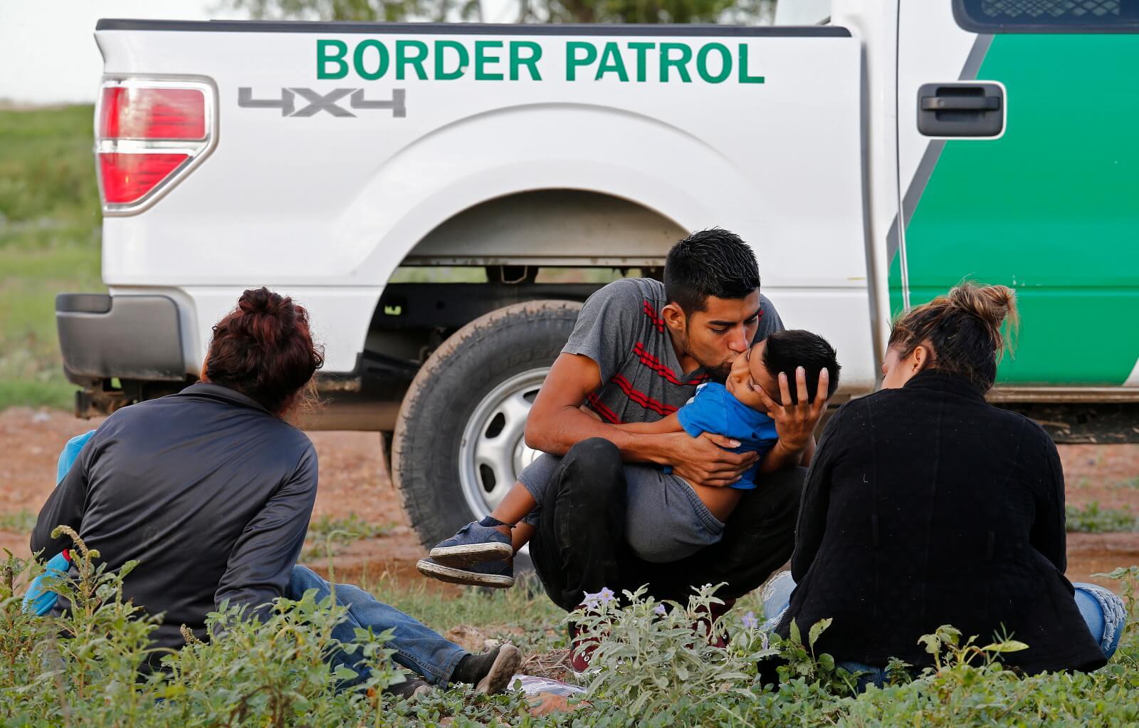 Granica amerykańsko - meksykańska fot. EPA/LARRY W. SMITH