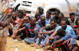 Uchodźcy w Sudanie fot. EPA/MARWAN ALI