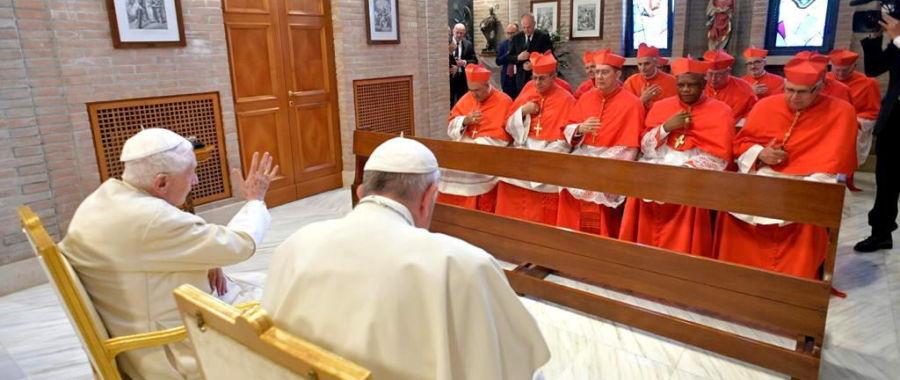 Bnedykt XVI i kardynałowie